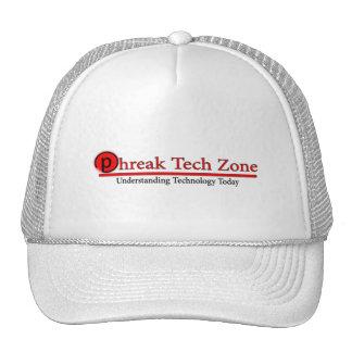 Chapéu do logotipo da zona da tecnologia de Phreak Boné