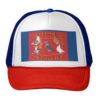 Chapéu do logotipo do clube do pombo de Puget Boné