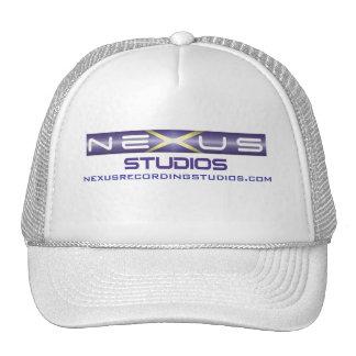 Chapéu do logotipo do estúdio de gravação do nexo boné