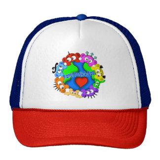 Chapéu do logotipo do peekaboo do planeta boné