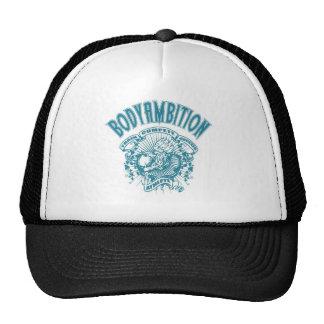 chapéu do logotipo dos homens da ambição do corpo boné