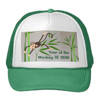 Chapéu do macaco do zodíaco boné