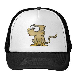Chapéu do macaco dos desenhos animados boné
