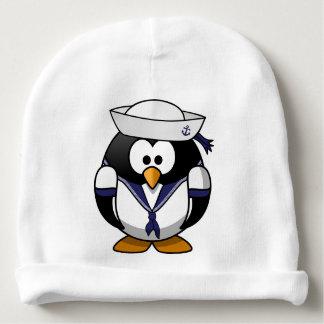 Chapéu do marinheiro do pinguim do bebê gorro para bebê