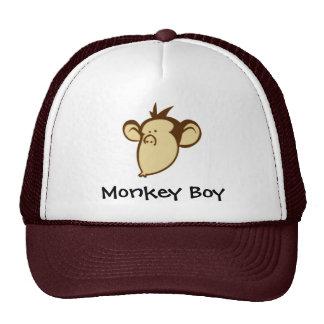 Chapéu do menino do macaco boné