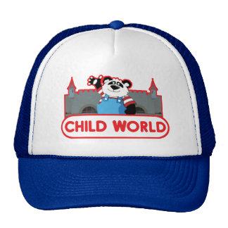 Chapéu do mundo da criança bones