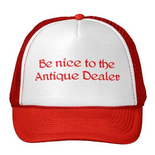 Chapéu do negociante antigo boné