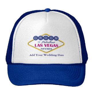 Chapéu do noivo de Las Vegas Boné