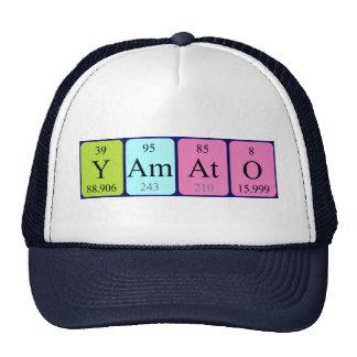 Chapéu do nome da mesa periódica de Yamato Boné
