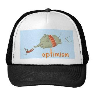 chapéu do optimismo para cada! boné