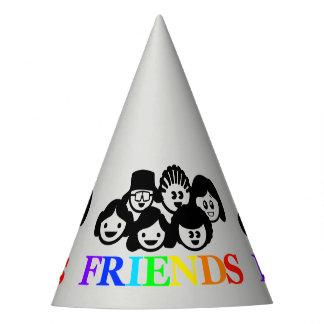 """Chapéu do partido da amizade dos """"amigos"""""""