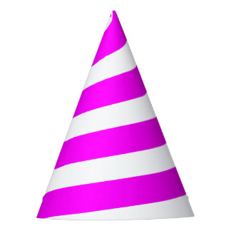 Chapéu do partido do chifre do unicórnio - rosa