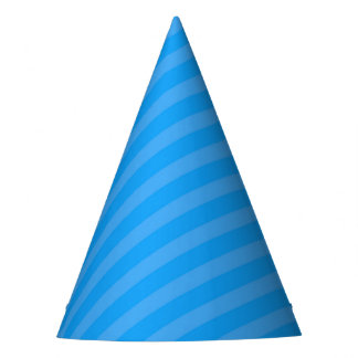 Chapéu do partido do super-herói - listra azul