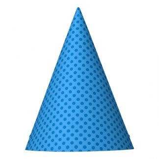 Chapéu do partido do super-herói - ponto azul