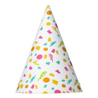 Chapéu do partido dos confetes