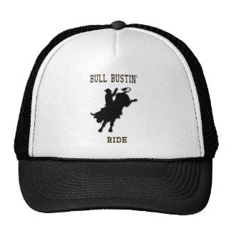 Chapéu do passeio de Bull Bustin Boné