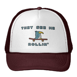 Chapéu do pinguim de Rollin Boné