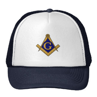 Chapéu do quadrado & do camionista dos compassos boné