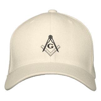 Chapéu do quadrado e do compasso boné bordado