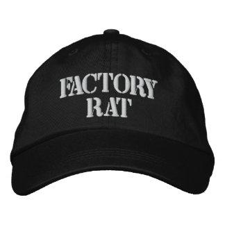 Chapéu do rato da fábrica boné bordado