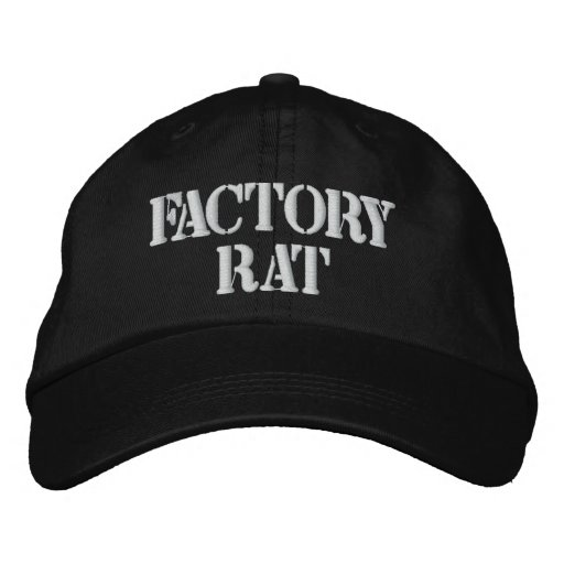 Chapéu do rato da fábrica bone