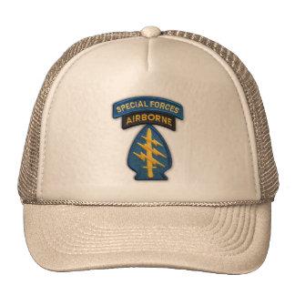 chapéu do remendo dos veteranos das forças especia boné
