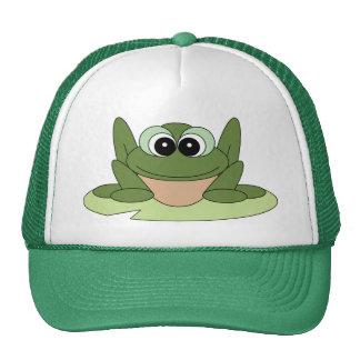 Chapéu do sapo dos desenhos animados boné