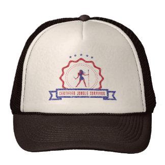Chapéu do selo da mulher da selva boné