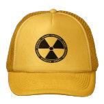 Chapéu do símbolo da radiação boné