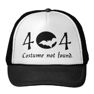 Chapéu do traje 404 boné