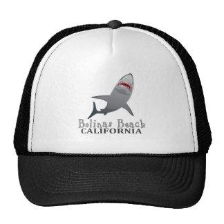 Chapéu do tubarão de Califórnia da praia de Bolina Boné