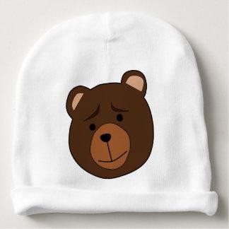 Chapéu do urso dos desenhos animados dos miúdos gorro para bebê