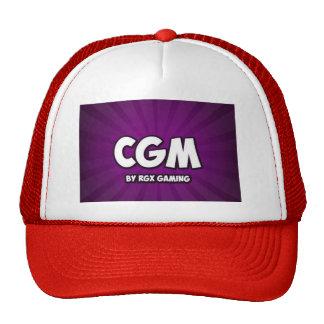 Chapéu do vermelho da matriz do CG Boné