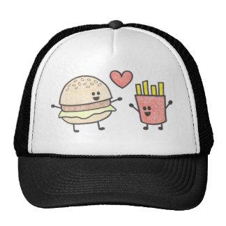 Chapéu dos amigos do fast food boné