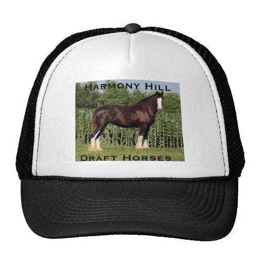 Chapéu dos cavalos de esboço do monte da harmonia bone