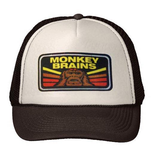 Chapéu dos cérebros do macaco bones