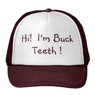 chapéu dos dentes de fanfarrão bonés