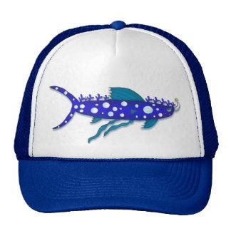 Chapéu dos desenhos animados do tubarão do boné