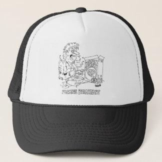 Chapéu dos desenhos animados do zombi boné