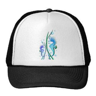 Chapéu dos desenhos animados dos cavalos marinhos boné