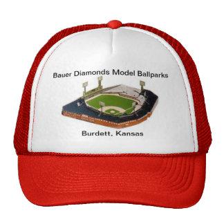 Chapéu dos diamantes de Bauer Boné