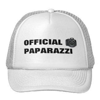 Chapéu dos PAPARAZZI Boné