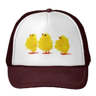 Chapéu dos pintinhos do bebê da páscoa boné