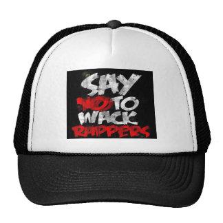 Chapéu dos rapperes de Whacck Boné