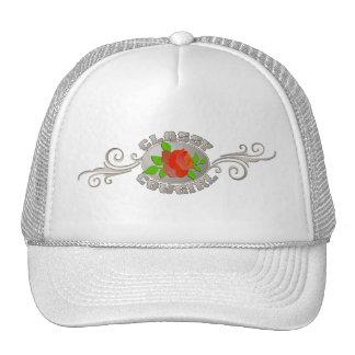 Chapéu elegante do boné da vaqueira