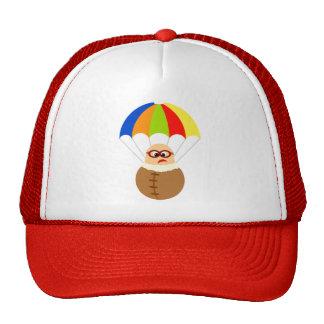 Chapéu engraçado do pára-quedas boné