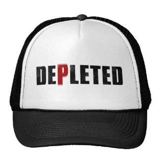 Chapéu esgotado do logotipo boné