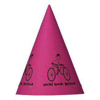 Chapéu estranho do partido do Bicycler do