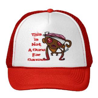 Chapéu experimentado do macaco boné