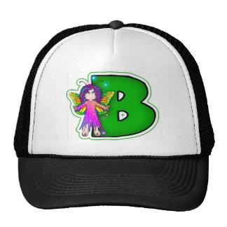 Chapéu FairyLetter B do camionista Boné